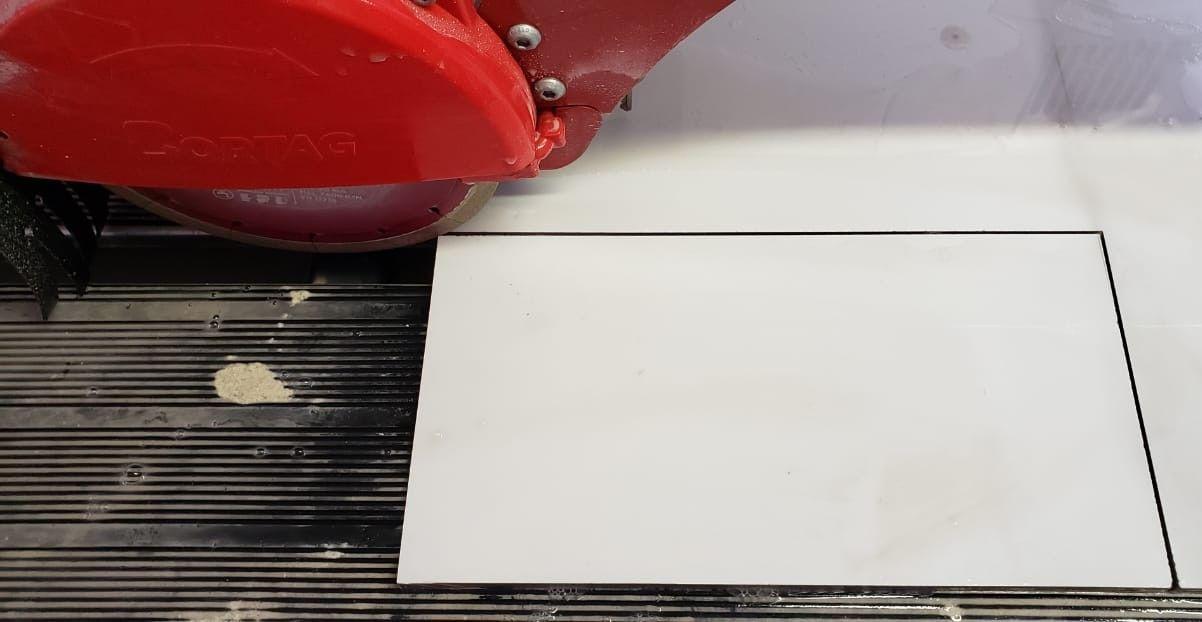 Máquina de corte para pisos profissional