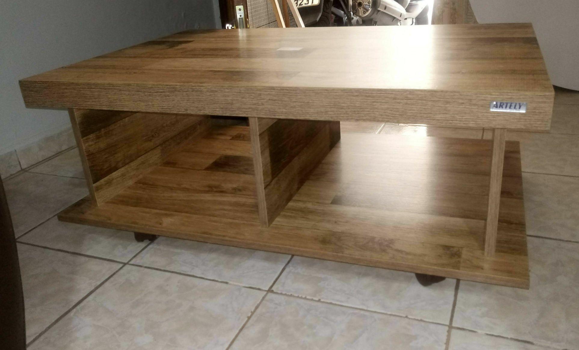 mesa de centro concluída
