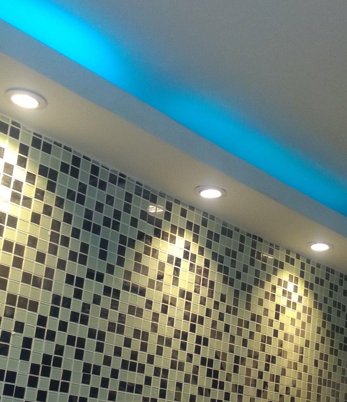 inalação de luminárias de croica