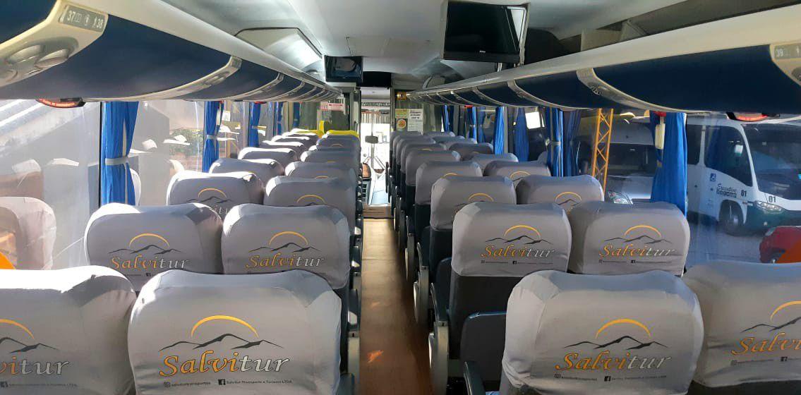 capas para bancos ônibus semi leito G7
