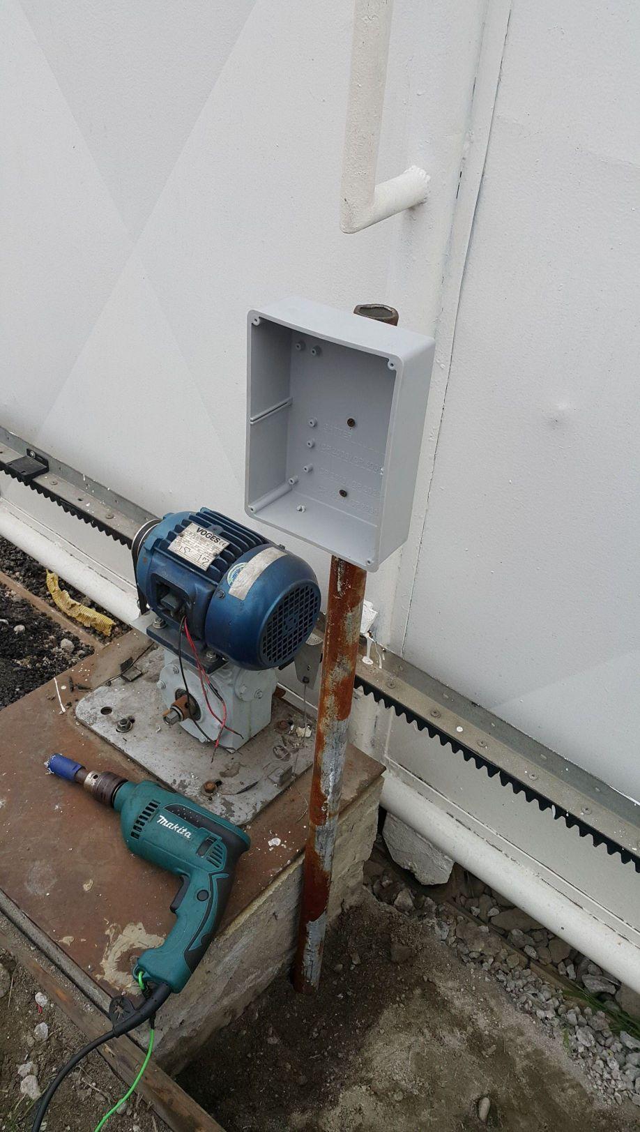 Manutenção de automação para portões
