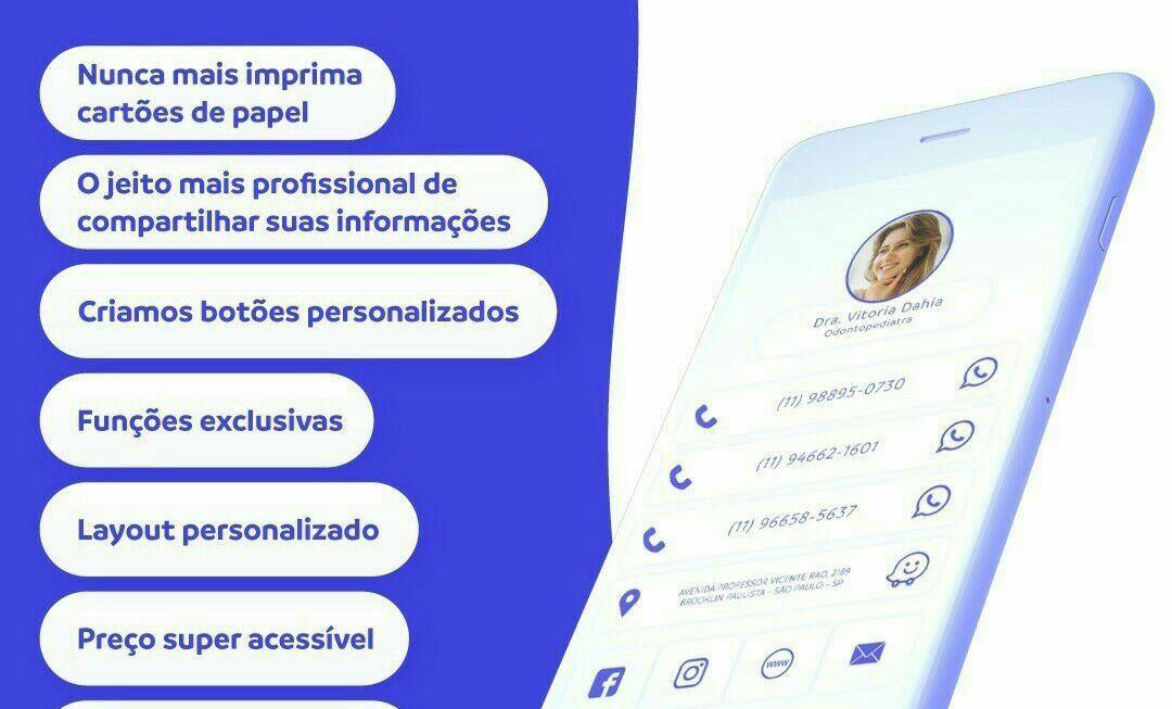 Cartão interativo virtual