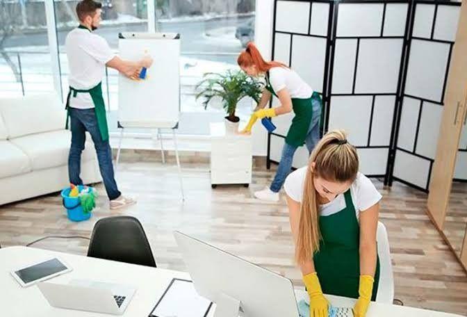 Limpeza pré e pós mudança