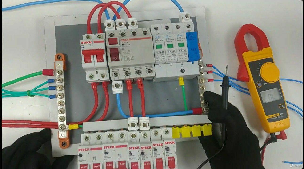 montagem de Quadro eletricos