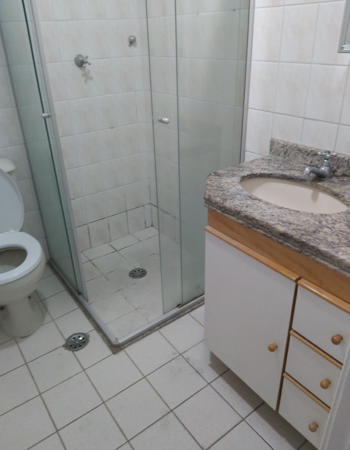banheiro antes
