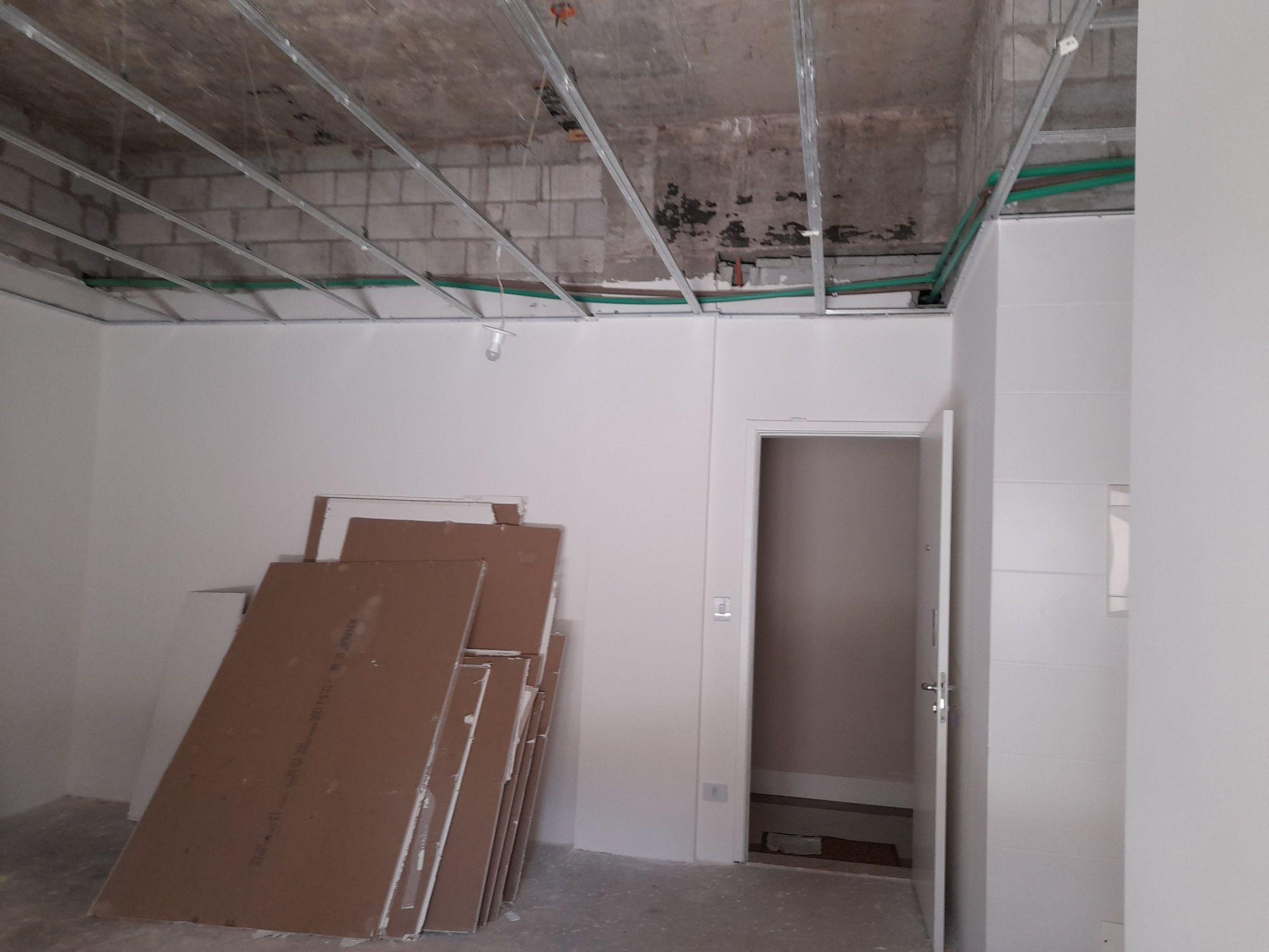 reforma apartamento e instalação de um mezanino
