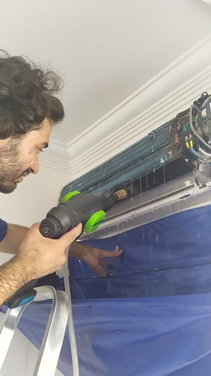 higiênização de ar condicionado