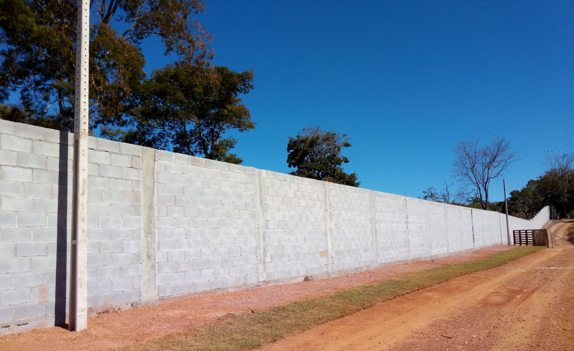 Muro de blocos