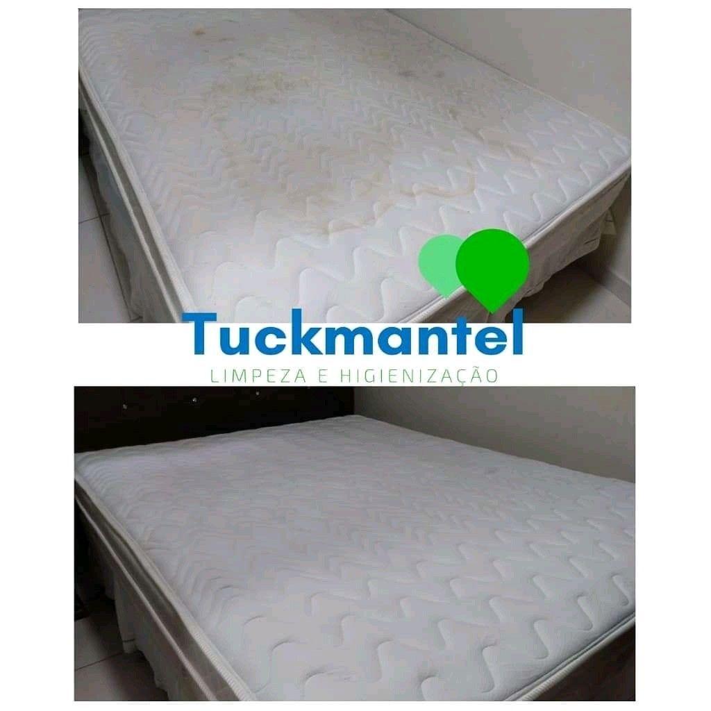 Limpeza e higienização de colchão
