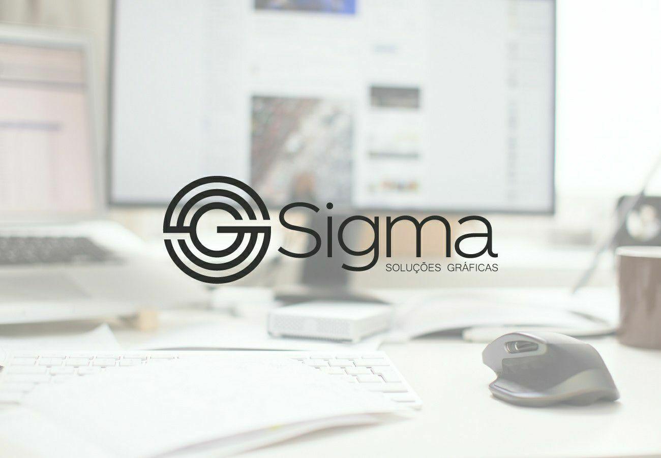 Logo - Sigma Soluções Gráficas