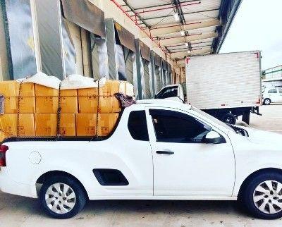 Carregamento para transportadora .