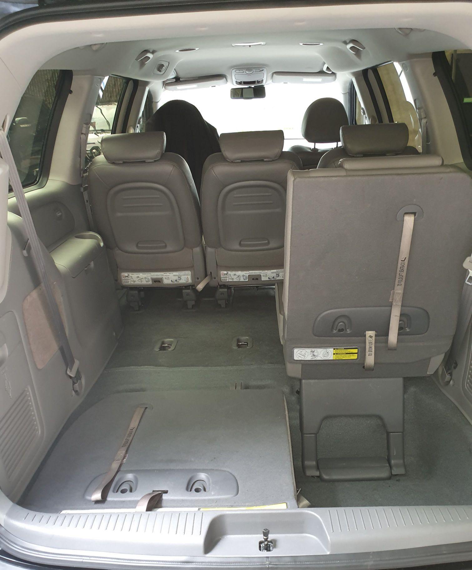 Amplo espaço para bagagem