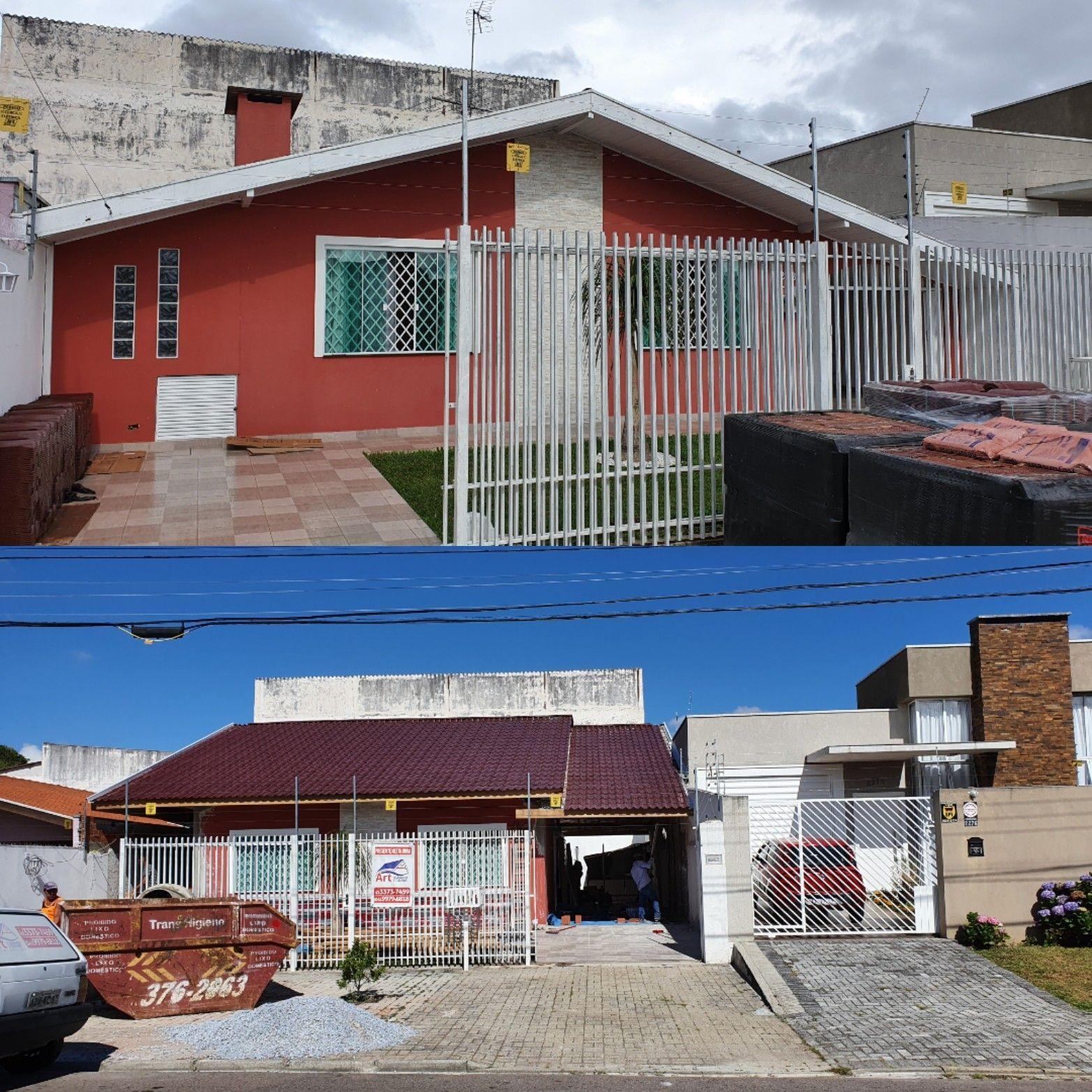 Reforma para telhado - Projeto e Execução