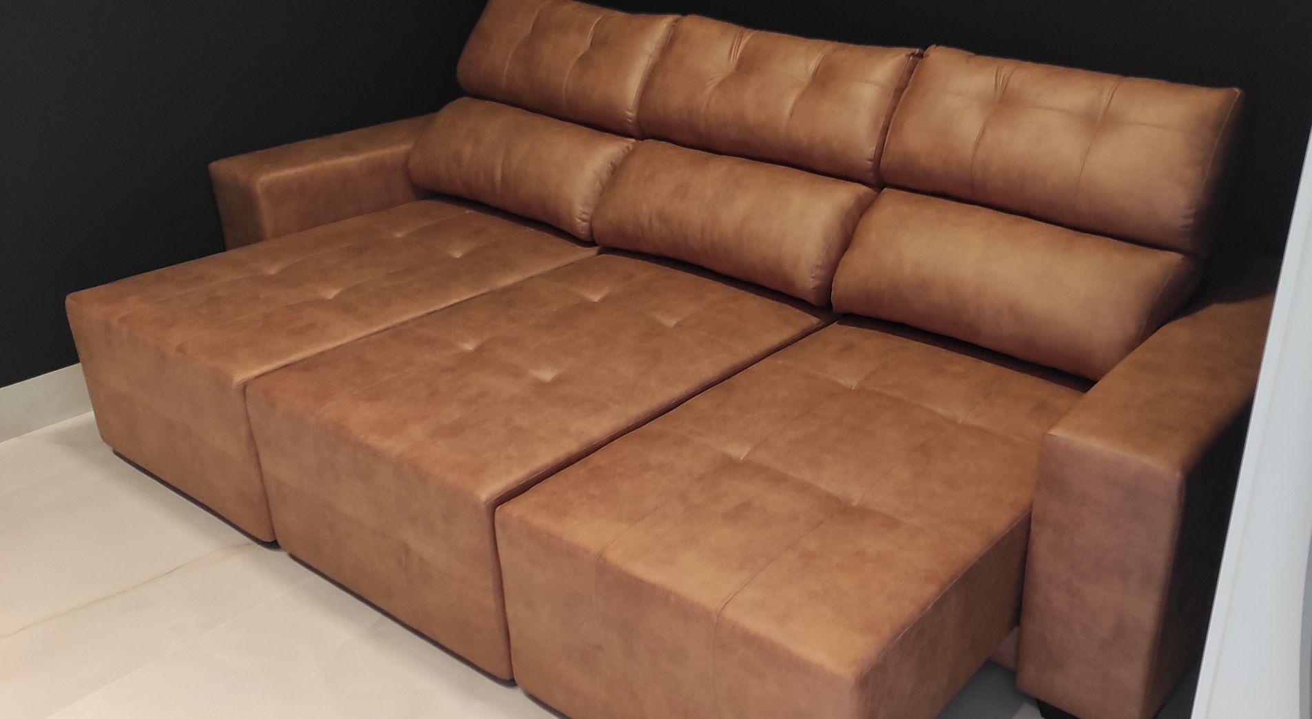 sofá retrátil reclinável 2,80.