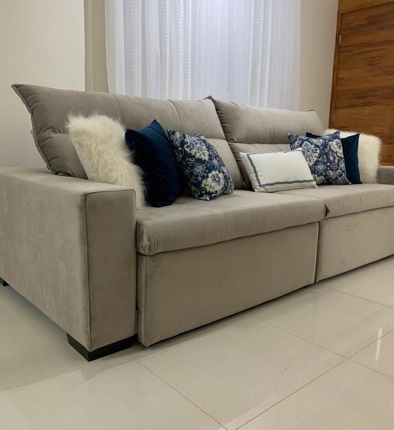 sofá retrátil reclinável 2,50.
