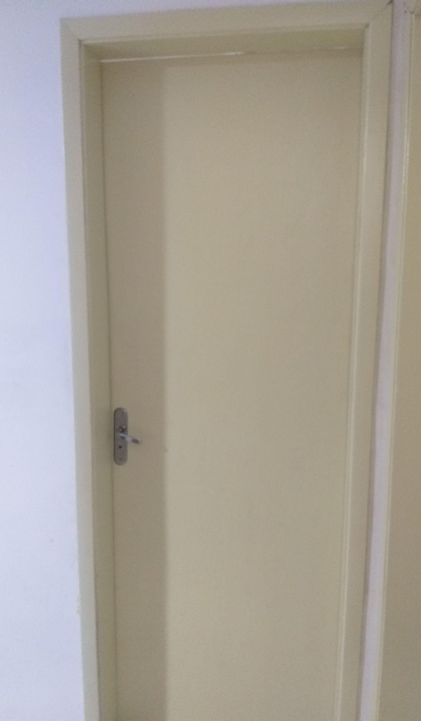 instalação e pintura de porta