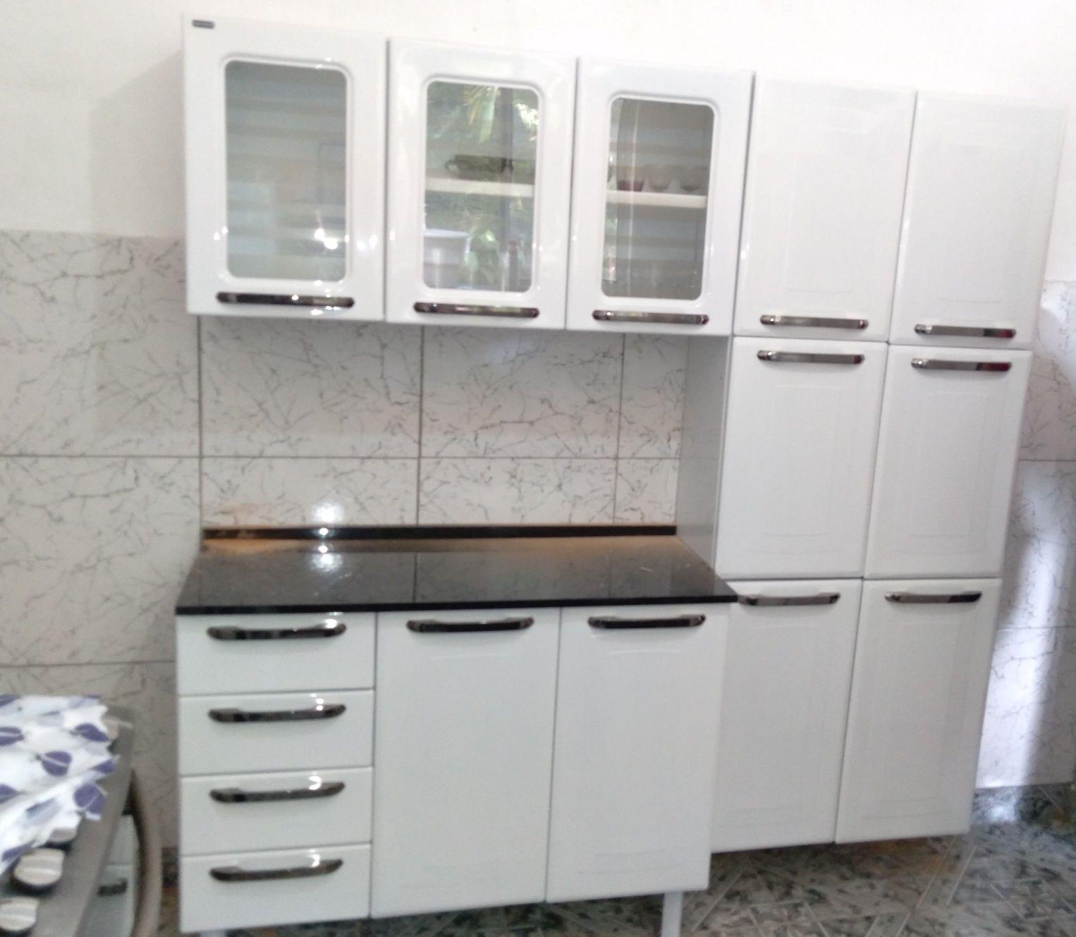 cozinha de aço