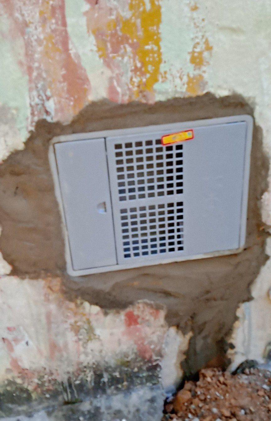serviço de instalação da caixa Sabesp.
