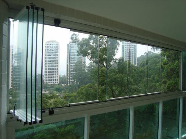 fechamento de Sacada/ Portas e janelas