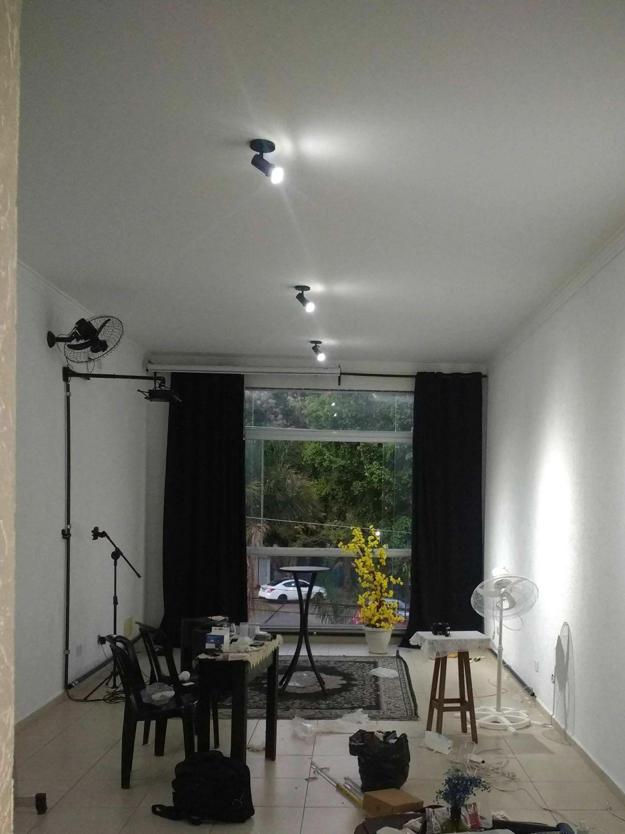 Iluminação de salão