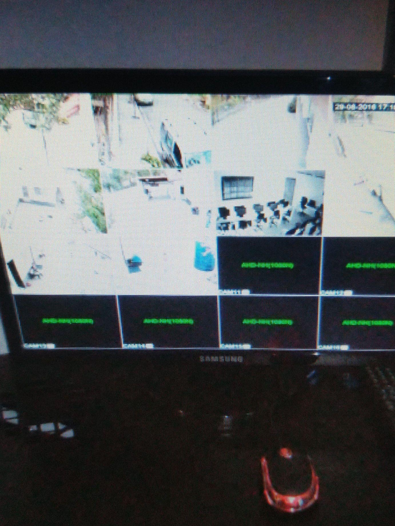 monitor para cameras