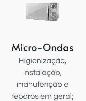 Conserto Microondas