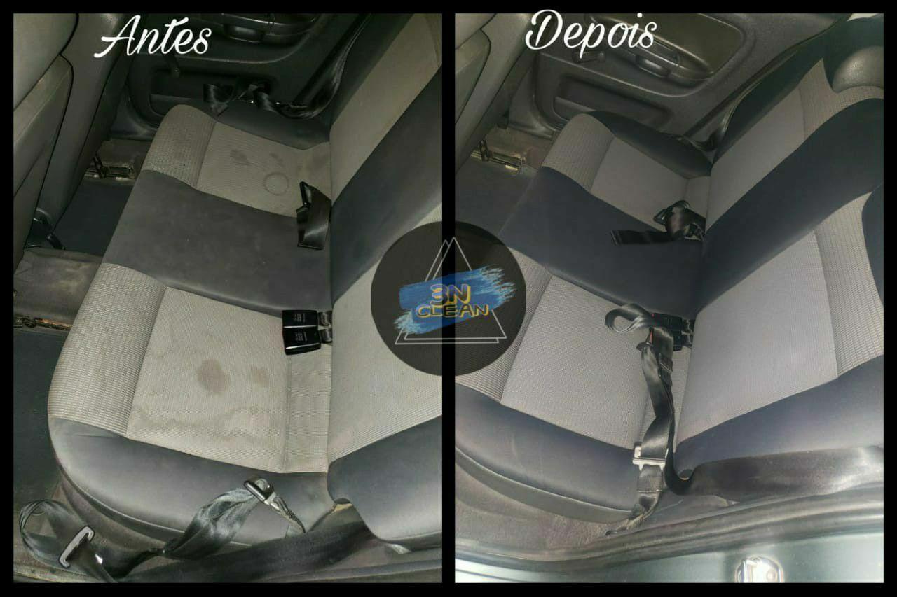 carro limpo e higienizado