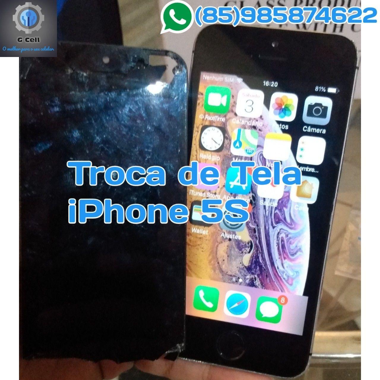 Troca de tela iPhone 5S