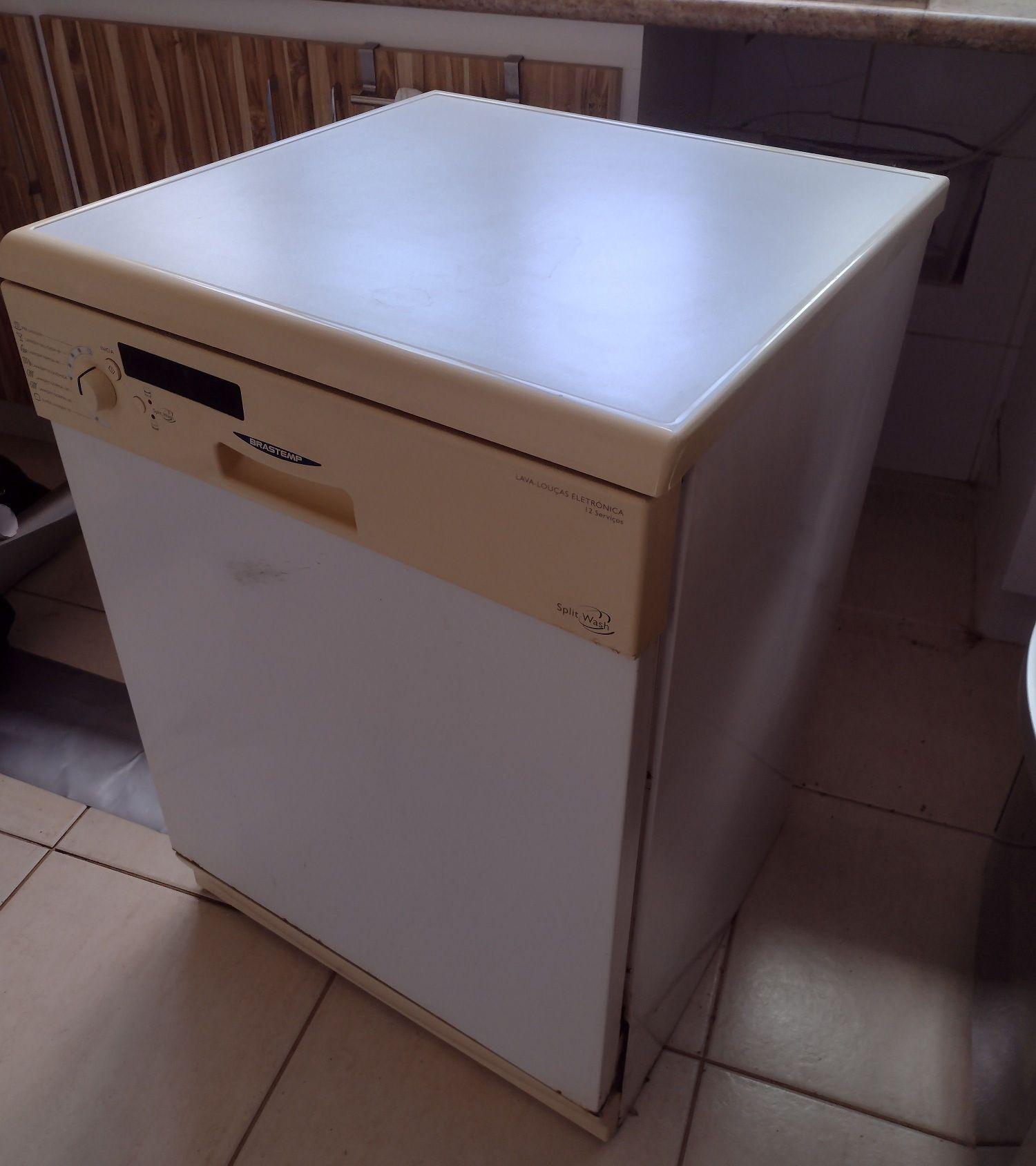 antes da lavadora de louça