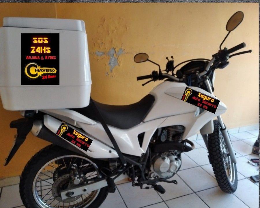 Moto Padronizada para os atendimentos