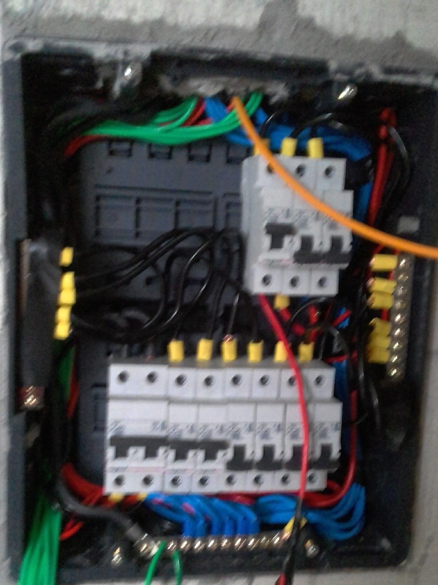 recuperação e modernização elétrica.