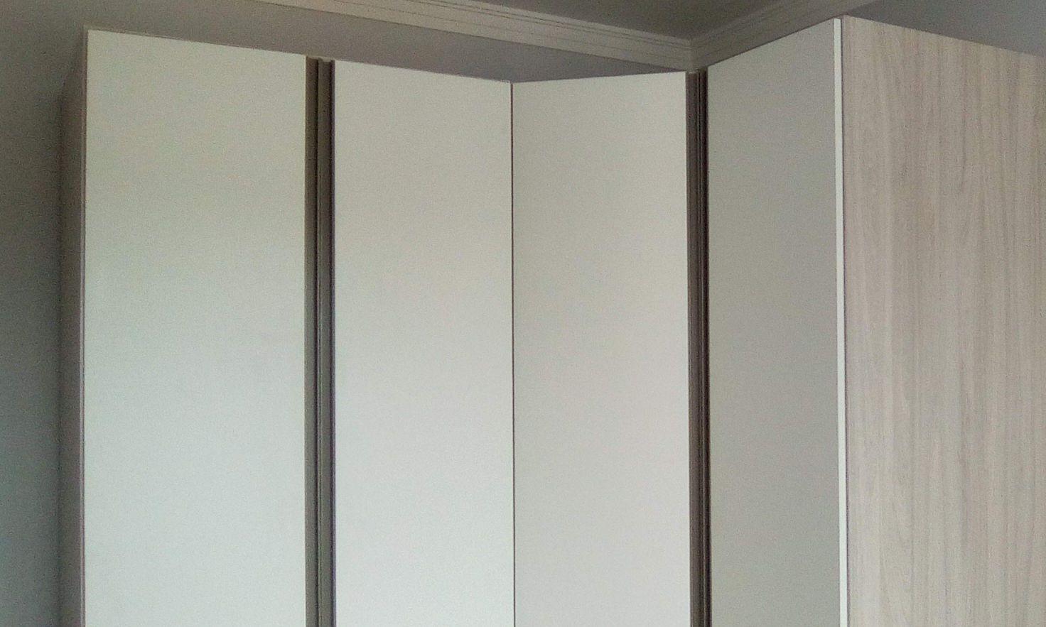 instalação armário de canto