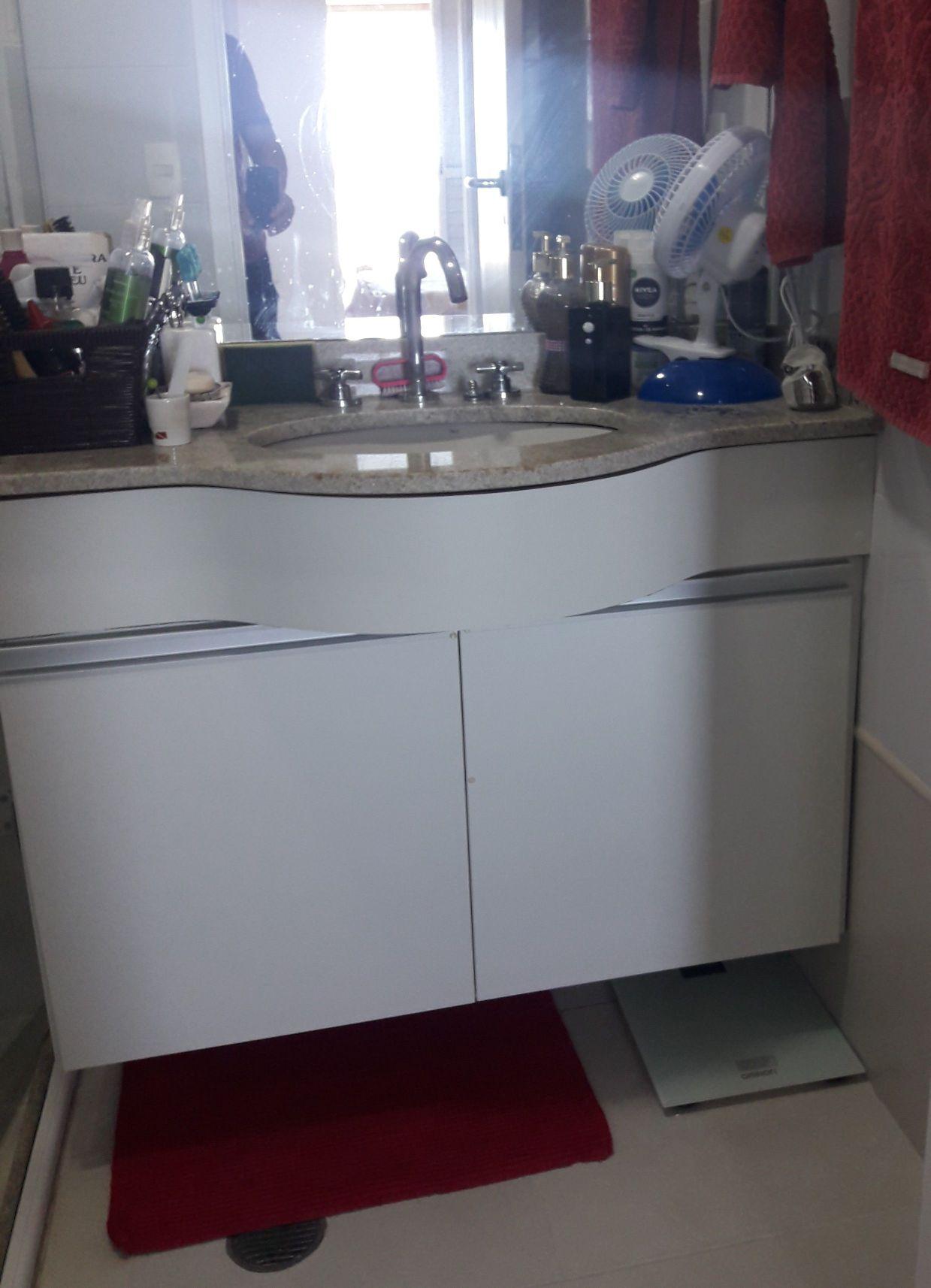 gabinete para pia de banheiro