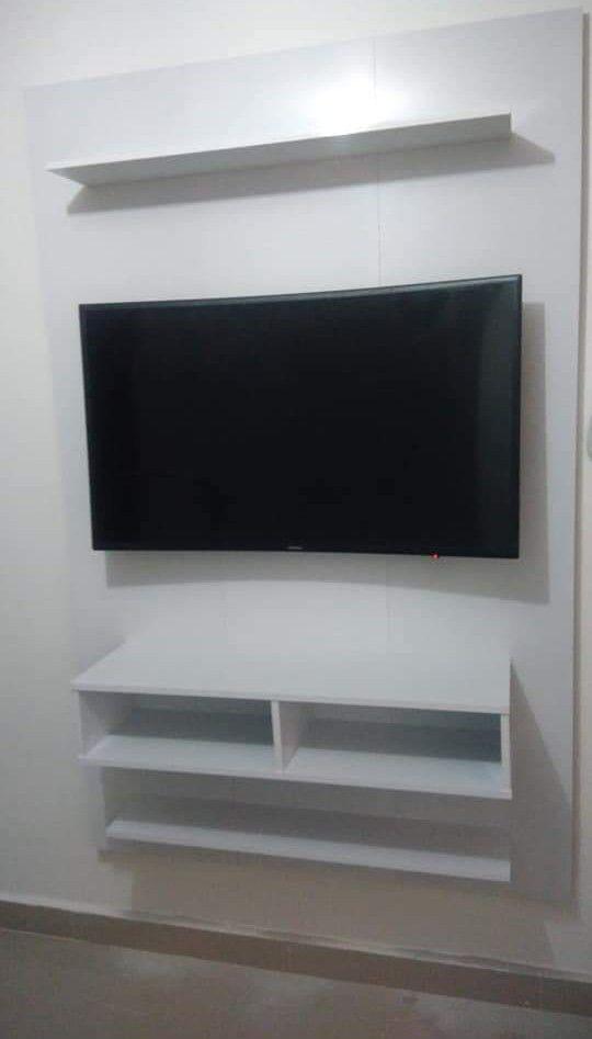 montagem de painel  e instalação de TV
