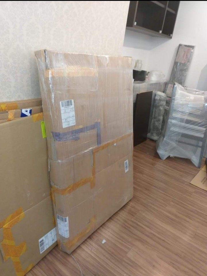 embalagem de quadros e tampos de mesa