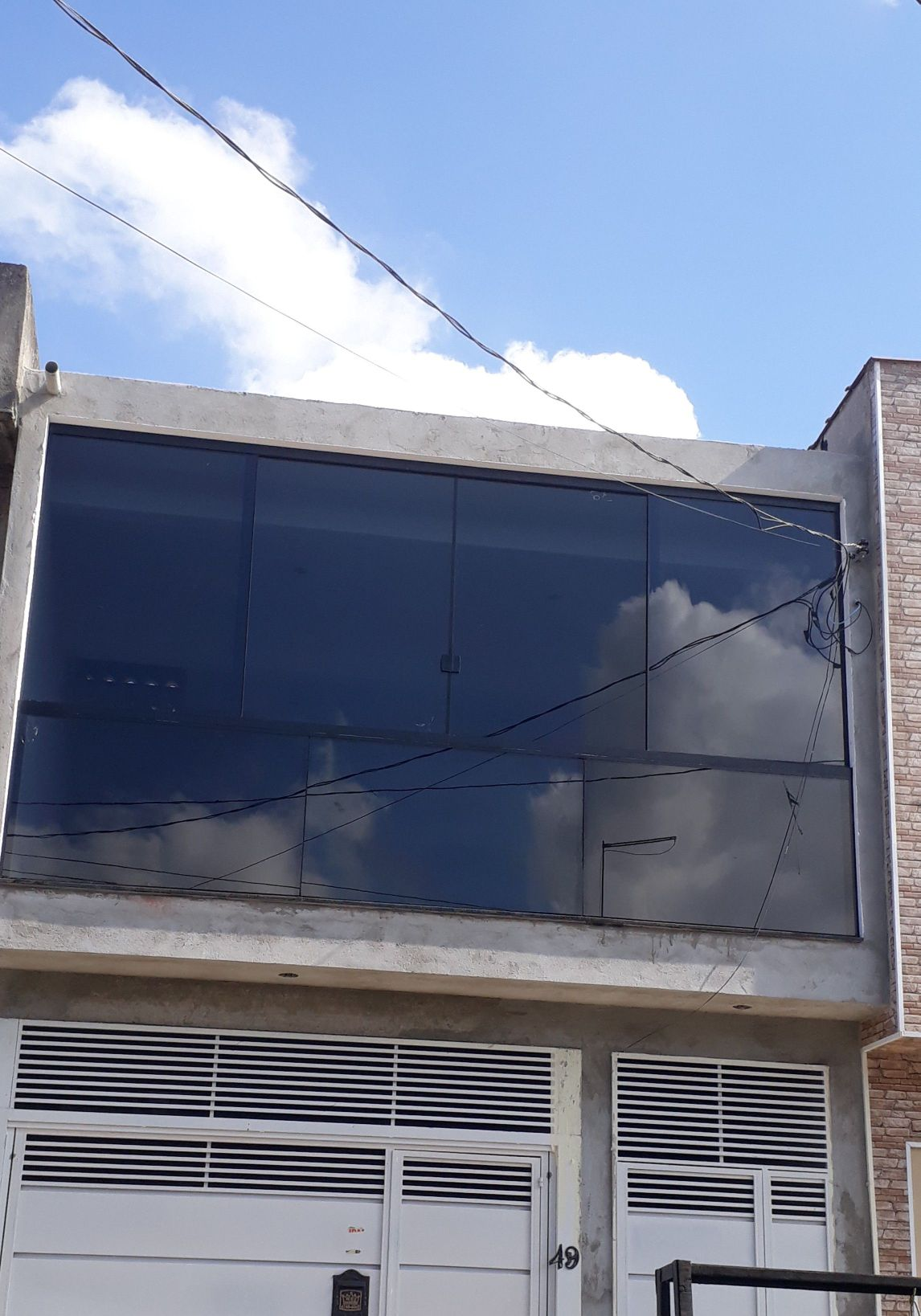 envidraçamento  janela  e guarda corpo conjugado