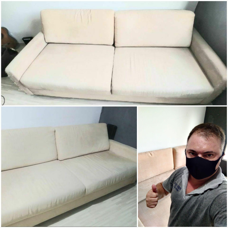 Higienização sofá