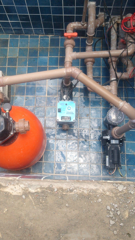 instalação de aquecedor e bomba de água para pisci
