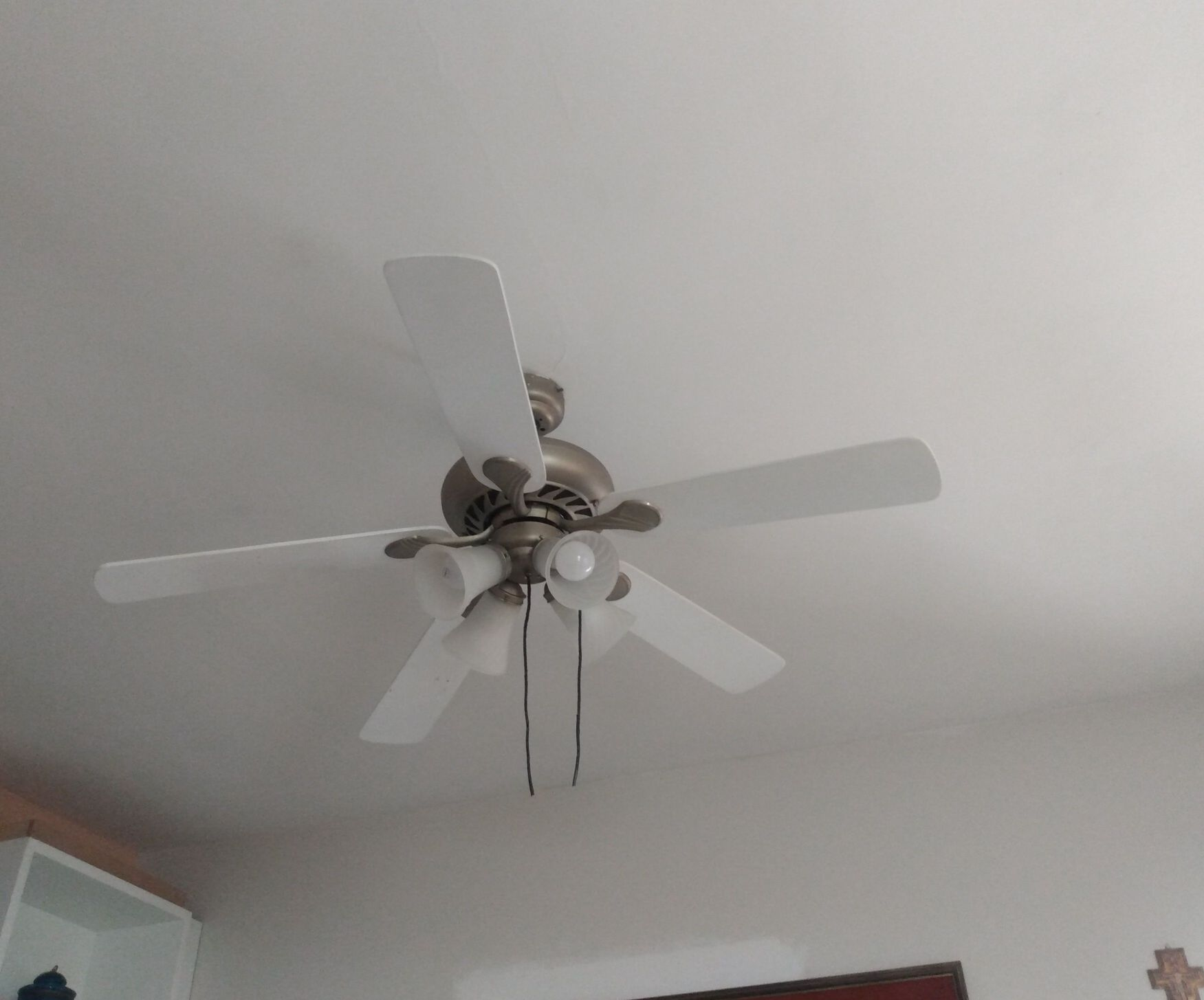 instalação de ventilador de teto