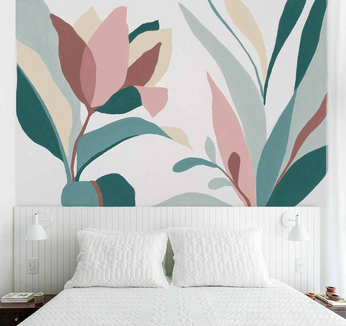 Projeto pintura em quarto casal