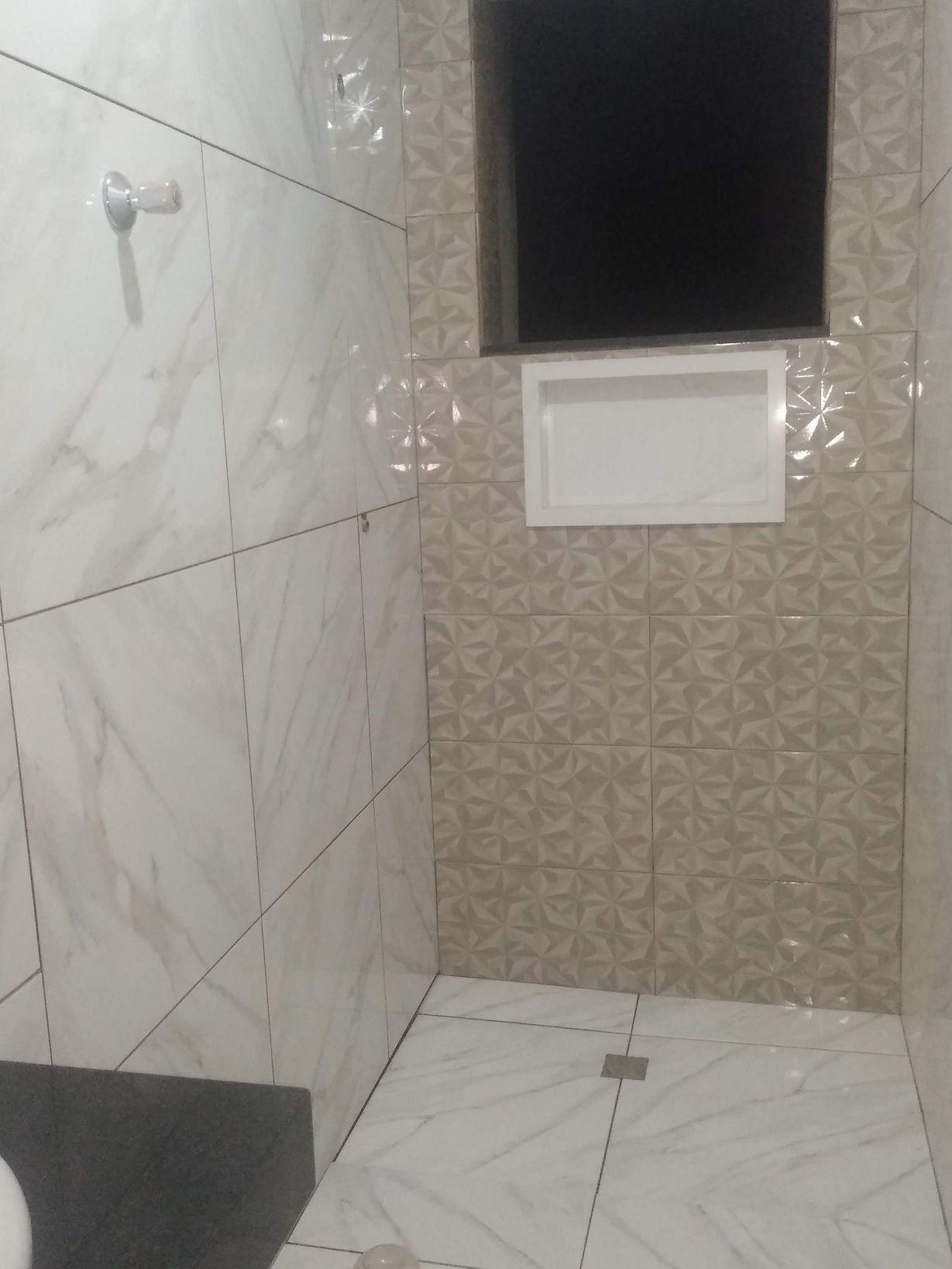 acabamento do banheiro