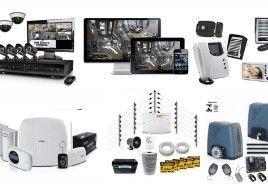 Cftv digital, Alarmes, Cercas e Automação