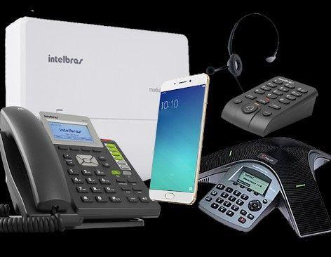 Telefonia Fixa, Móvel e VoIP