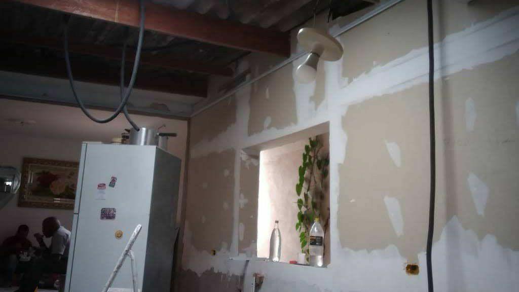 Fechamento interno com drywall