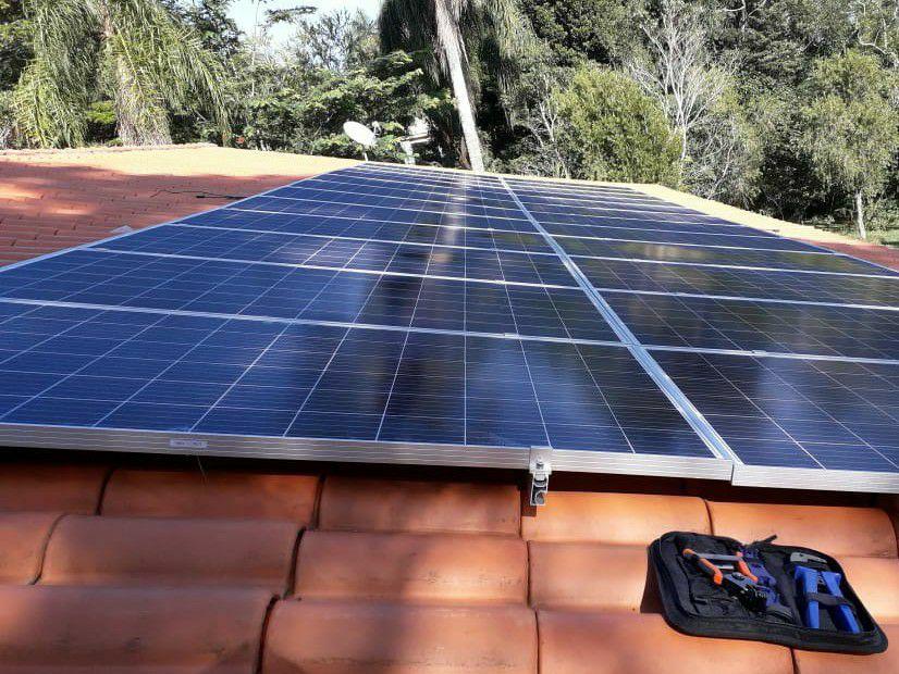 Sistema Fotovoltaico em Ibiuna SP