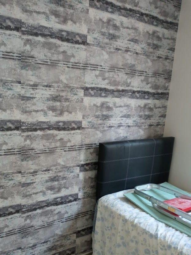 serviços entregue locação de papel de parede