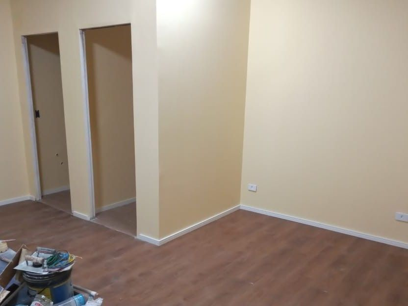 obra entregue pintura e colocação de piso