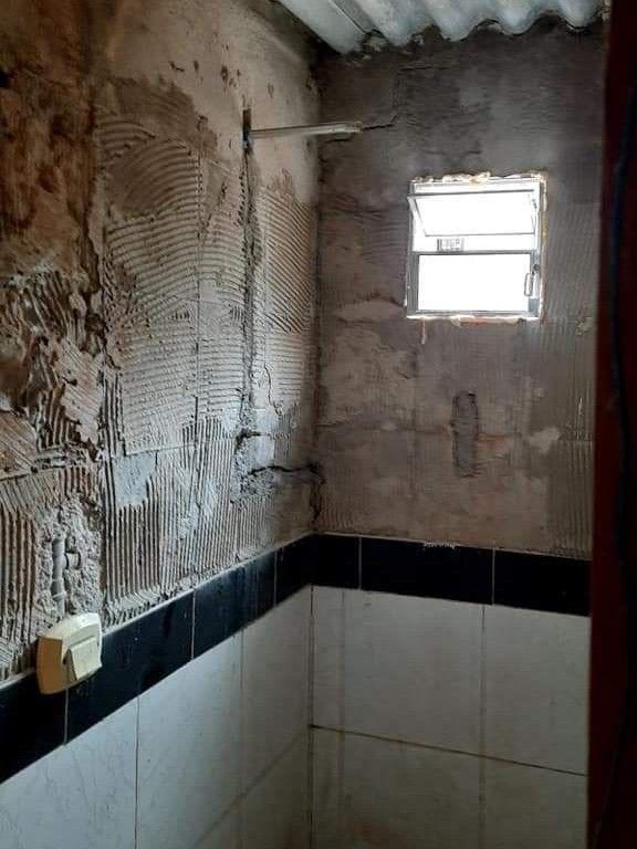 reforma de banheiro antes