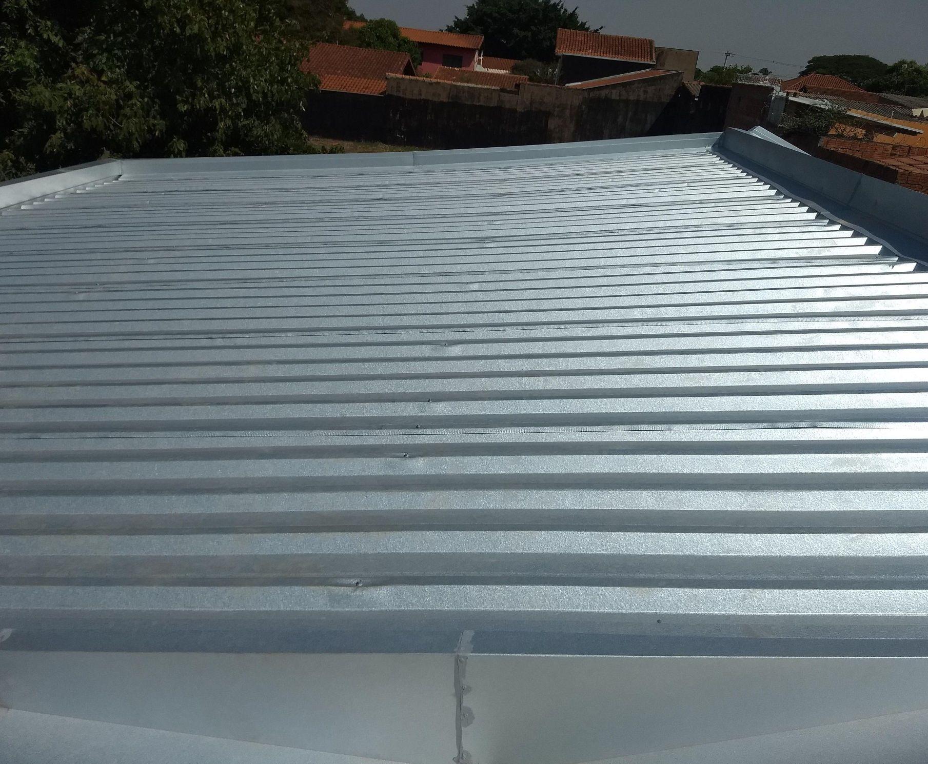 telhado residencial telhas sanduíche