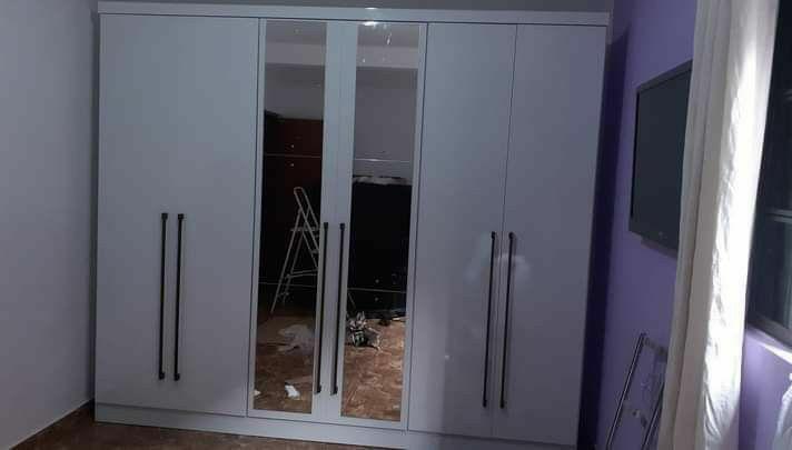guarda roupas 6 portas excelência no serviço